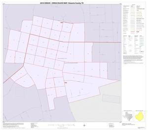 Primary view of object titled '2010 Census County Block Map: Brazoria County, Inset O01'.