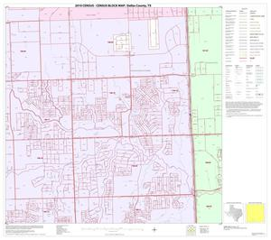 Primary view of object titled '2010 Census County Block Map: Dallas County, Block 67'.
