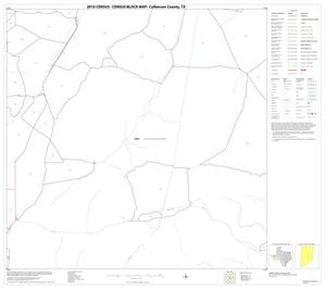 Primary view of object titled '2010 Census County Block Map: Culberson County, Block 28'.