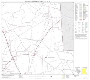 Primary view of object titled '2010 Census County Block Map: Rusk County, Block 14'.