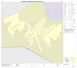 Primary view of object titled '2010 Census County Block Map: Zapata County, Inset C01'.