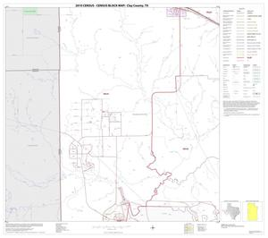 Primary view of object titled '2010 Census County Block Map: Clay County, Block 12'.