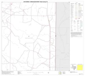 Primary view of object titled '2010 Census County Block Map: Potter County, Block 8'.