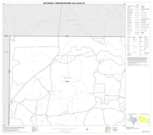 Primary view of object titled '2010 Census County Block Map: Kerr County, Block 1'.