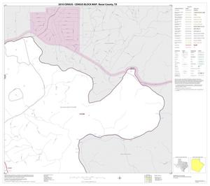 Primary view of object titled '2010 Census County Block Map: Bexar County, Block 6'.