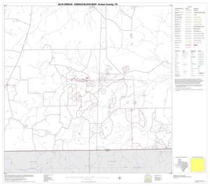 Primary view of object titled '2010 Census County Block Map: Archer County, Block 15'.
