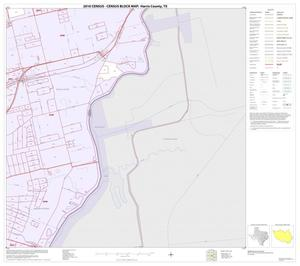 Primary view of object titled '2010 Census County Block Map: Harris County, Block 208'.