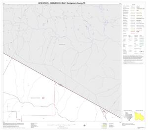 Primary view of object titled '2010 Census County Block Map: Montgomery County, Block 3'.