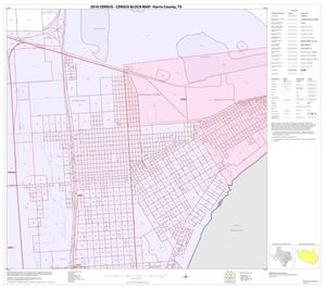 Primary view of object titled '2010 Census County Block Map: Harris County, Block 244'.