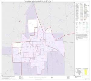 Primary view of object titled '2010 Census County Block Map: Franklin County, Inset A01'.