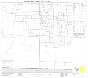 Primary view of object titled '2010 Census County Block Map: Cochran County, Block 8'.