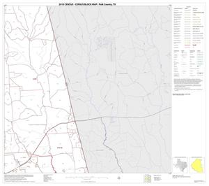 Primary view of object titled '2010 Census County Block Map: Polk County, Block 17'.