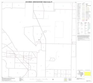 Primary view of object titled '2010 Census County Block Map: Dallam County, Block 16'.