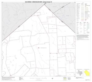 Primary view of object titled '2010 Census County Block Map: Jackson County, Block 2'.