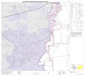 Primary view of object titled '2010 Census County Block Map: Chambers County, Block 6'.