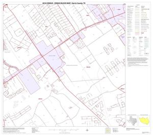 Primary view of object titled '2010 Census County Block Map: Harris County, Block 71'.