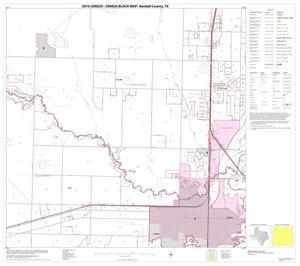 Primary view of object titled '2010 Census County Block Map: Randall County, Block 6'.