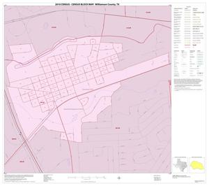 Primary view of object titled '2010 Census County Block Map: Williamson County, Inset M01'.