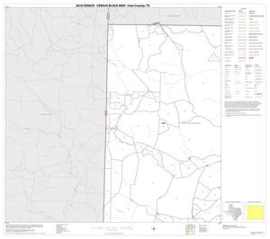 Primary view of object titled '2010 Census County Block Map: Irion County, Block 1'.