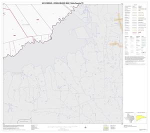 Primary view of object titled '2010 Census County Block Map: Delta County, Block 14'.
