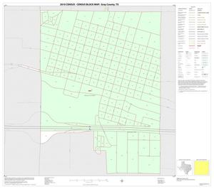 Primary view of object titled '2010 Census County Block Map: Gray County, Inset D01'.