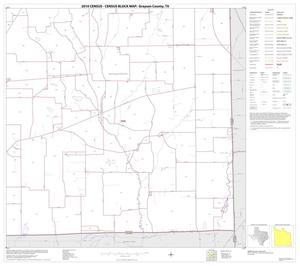 Primary view of object titled '2010 Census County Block Map: Grayson County, Block 26'.