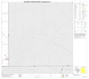 Primary view of object titled '2010 Census County Block Map: Jim Hogg County, Block 23'.