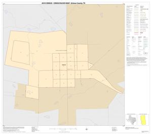 Primary view of object titled '2010 Census County Block Map: Grimes County, Inset B01'.