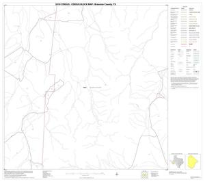 Primary view of object titled '2010 Census County Block Map: Brewster County, Block 12'.