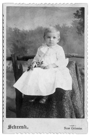 Primary view of object titled '[Small boy in white garment]'.