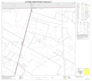 Primary view of object titled '2010 Census County Block Map: La Salle County, Block 3'.