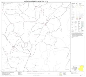 Primary view of object titled '2010 Census County Block Map: Terrell County, Block 11'.
