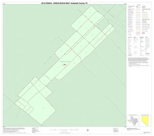 Primary view of object titled '2010 Census County Block Map: Hudspeth County, Inset C01'.