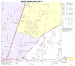 Primary view of object titled '2010 Census County Block Map: Harris County, Block 96'.