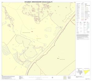 Primary view of object titled '2010 Census County Block Map: Galveston County, Block 46'.