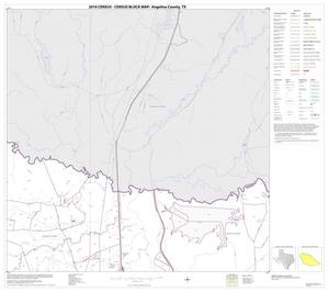 Primary view of object titled '2010 Census County Block Map: Angelina County, Block 3'.