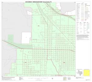 Primary view of object titled '2010 Census County Block Map: Scurry County, Inset B02'.