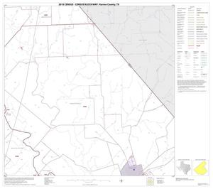 Primary view of object titled '2010 Census County Block Map: Karnes County, Block 11'.