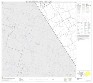 Primary view of object titled '2010 Census County Block Map: Falls County, Block 13'.
