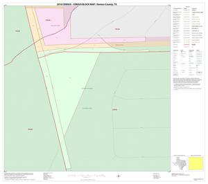 Primary view of object titled '2010 Census County Block Map: Denton County, Inset B01'.