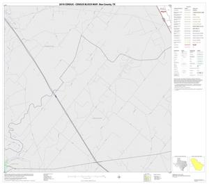 Primary view of object titled '2010 Census County Block Map: Bee County, Block 8'.