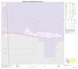 Primary view of object titled '2010 Census County Block Map: Ellis County, Inset B01'.