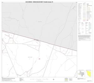 Primary view of object titled '2010 Census County Block Map: Presidio County, Block 15'.