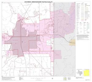 Primary view of object titled '2010 Census County Block Map: Palo Pinto County, Block 14'.