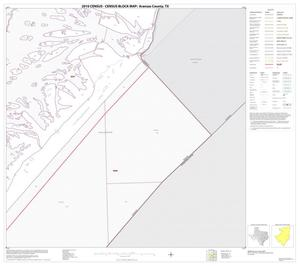 Primary view of object titled '2010 Census County Block Map: Aransas County, Block 10'.