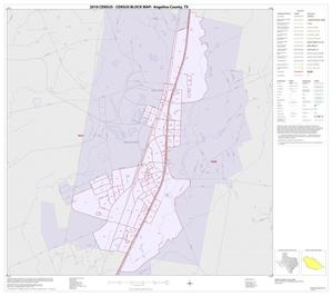 Primary view of object titled '2010 Census County Block Map: Angelina County, Inset F01'.