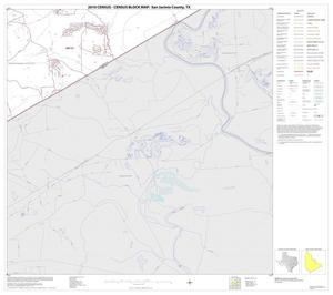 Primary view of object titled '2010 Census County Block Map: San Jacinto County, Block 14'.