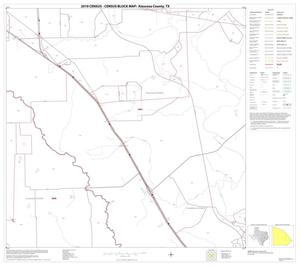 Primary view of object titled '2010 Census County Block Map: Atascosa County, Block 16'.