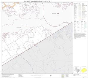 Primary view of object titled '2010 Census County Block Map: Navarro County, Block 23'.