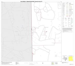 Primary view of object titled '2010 Census County Block Map: Kenedy County, Block 6'.